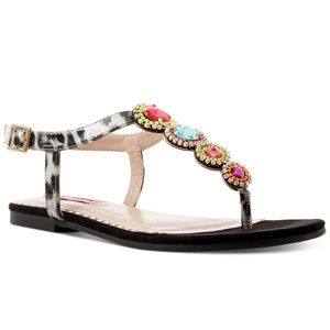 BRAND NEW Betsey Johnson Glow Sandals
